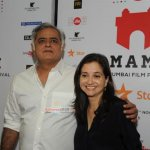 Vidya Balan, Manoj Bajpayee, Rajkummar Rao at film 'Aligarh' screening at Jio MAMI 17th, Mumbai Film Festival