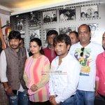 Rajpal Yadav at film 'Kutumb' Song Recording