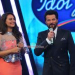 Anil Kapoor, John Abraham, Shruti Haasan, Sonakshi Sinha at 'Welcome Back' Promotions on the sets of Indian Idol Juniors