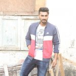 Arjun Kapoor Snapped on the Sets Shooting for a TV Commercial