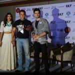 Salman Khan, Athiya Shetty, Sooraj Pancholi at film 'Hero' Promotions