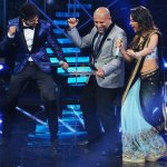 Sonakshi Sinha, Shatrughan Sinha, Kapil Sharma at Indian Idol Junior Grand Finale