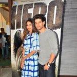 Sooraj Pancholi and Athiya Shetty Promote Film 'Hero'