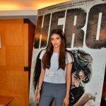 Sooraj Pancholi and Athiya Shetty at Bhasha press meet and film 'Hero' promotions