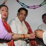 Actor Govinda Ganpati Celebration