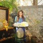 Raveena Tandon and Sambhavana Seth celebrate Ganesh Festival 2015