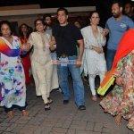 Salman Khan with his family at their Ganpati Visarjan