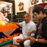 Mahesh Manjrekar visits Nana Patekar's Ganpati at his residence
