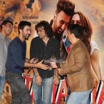Ranbir Kapoor, Deepika Padukone, Imtiaz Ali at the Trailer Launch of 'Tamasha'