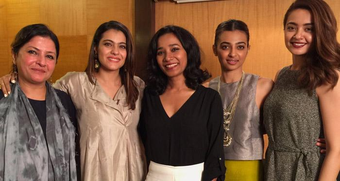 Ajay Devgn and Parched stars are on a promotion spree for the film!
