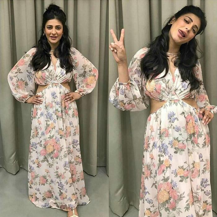 Shruti Haasan's trendy looks form Behen Hogi Teri promotions can be a steal for your wardrobe!