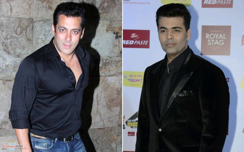 Salman Khan says rumours of him no longer being part of Karan Johar collaboration baseless!
