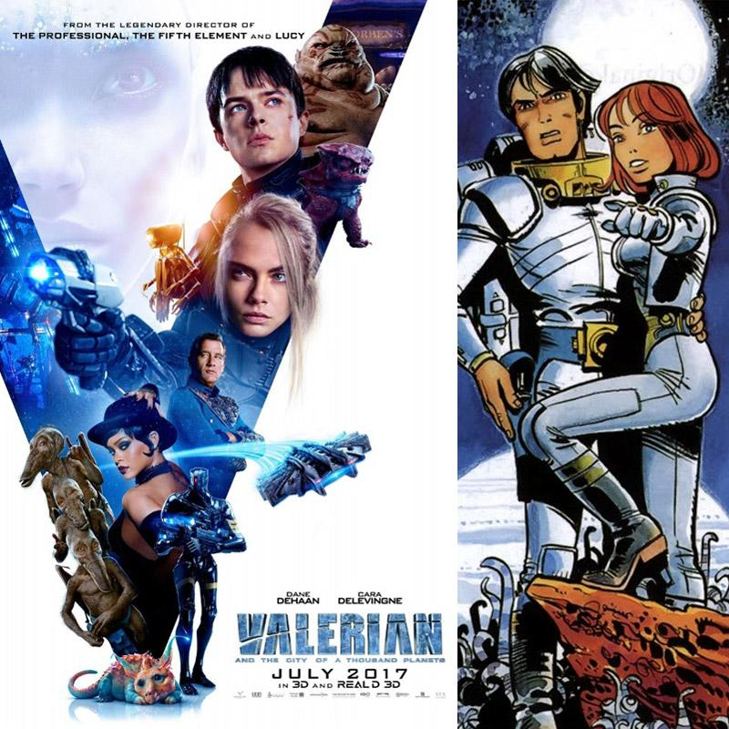 July Hollywood release: Valerian and the City of a Thousand Planets!