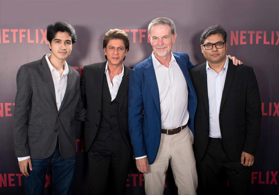 Netflix joins hands with SRK's Red Chillies Entertainment for a multilingual thriller!