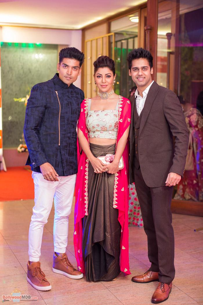 Friends make Saurabh Pandey's engagement party special!