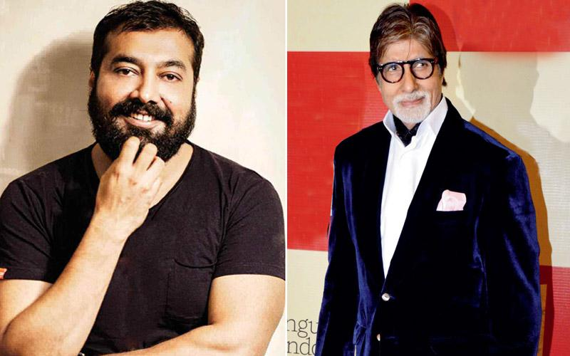 Anurag Kashyap to direct legendary Amitabh Bachchan in his upcoming film?