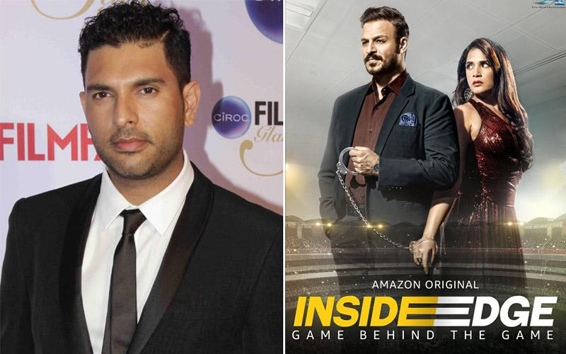 If time permits, Yuvraj Singh can be seen in the season 2 of 'Inside Edge'!