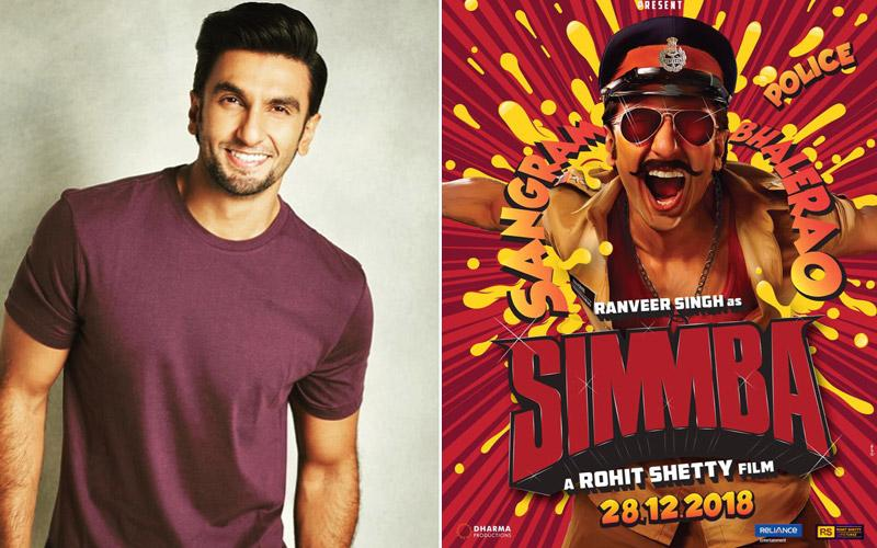 Ranveer Singh to shoot a special introductory video for his film 'Simmba'!